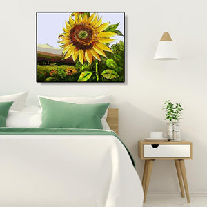 Sunflower - Paint by Numbers 40x50cm