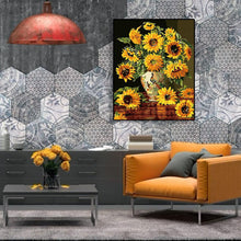 Load image into Gallery viewer, Sunflowers - Paint by Numbers 40x50cm