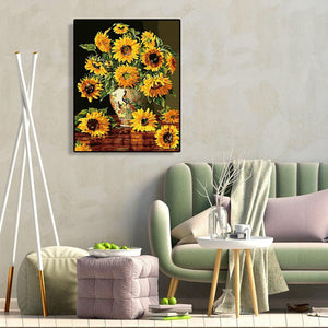 Sunflowers - Paint by Numbers 40x50cm