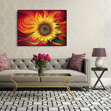 Load image into Gallery viewer, Vortex Sunflower - Paint by Numbers 40x50cm