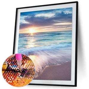 Sunrise Beach - Full Diamond Painting