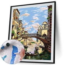 Load image into Gallery viewer, Venice Bridge - Paint by Numbers 40x50cm