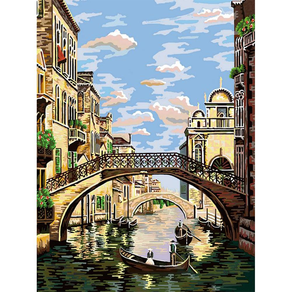 Venice Bridge - Paint by Numbers 40x50cm
