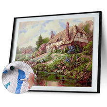 Load image into Gallery viewer, Cabin Posters - Paint by Numbers 40x50cm