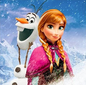 Frozen 5D DIY Full Drill Diamond Painting
