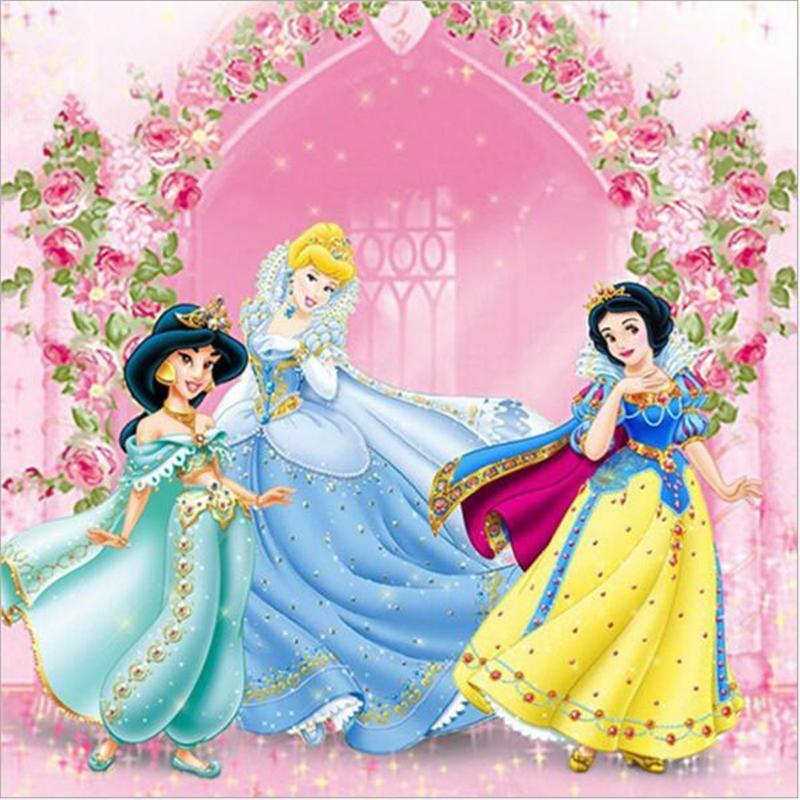 Disney Princess 5D DIY Full Drill Diamond Painting