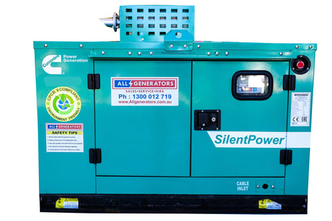17 KVA Cummins Three phase Diesel Generator-allgenerators.com.au