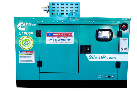 11 KVA Cummins Single Phase Diesel Generator-allgenerators.com.au