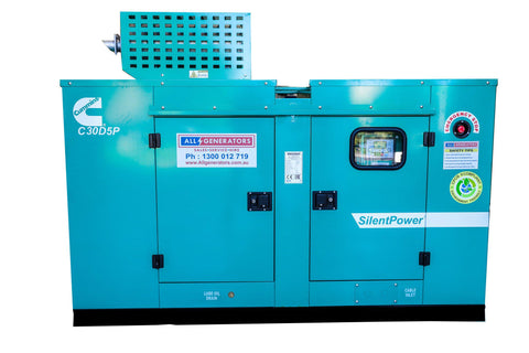 33 KVA Cummins Three Phase Diesel Generator-allgenerators.com.au