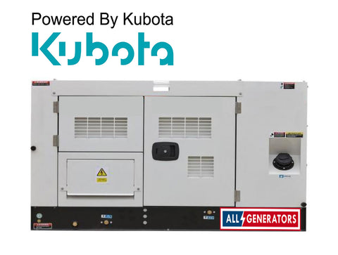 7 KVA Kubota Powered Single Phase Diesel Generator