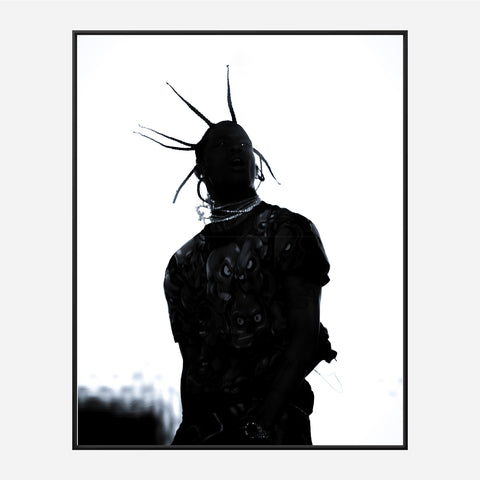 Travis Scott Hair Swing