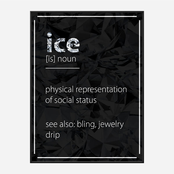 Ice Definition