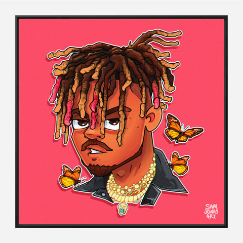 Juice Wrld Portrait