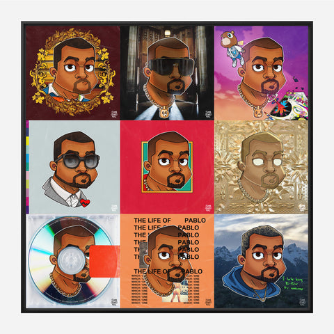 Kanye West Collage