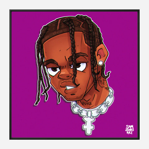 Travis Scott Portrait