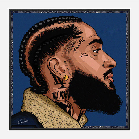Nipsey Side Profile