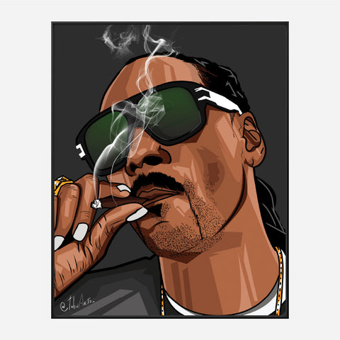 Snoop Smoking