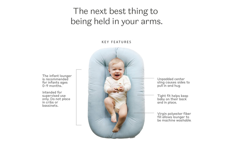 Lounger for Baby - Organic & Sensory