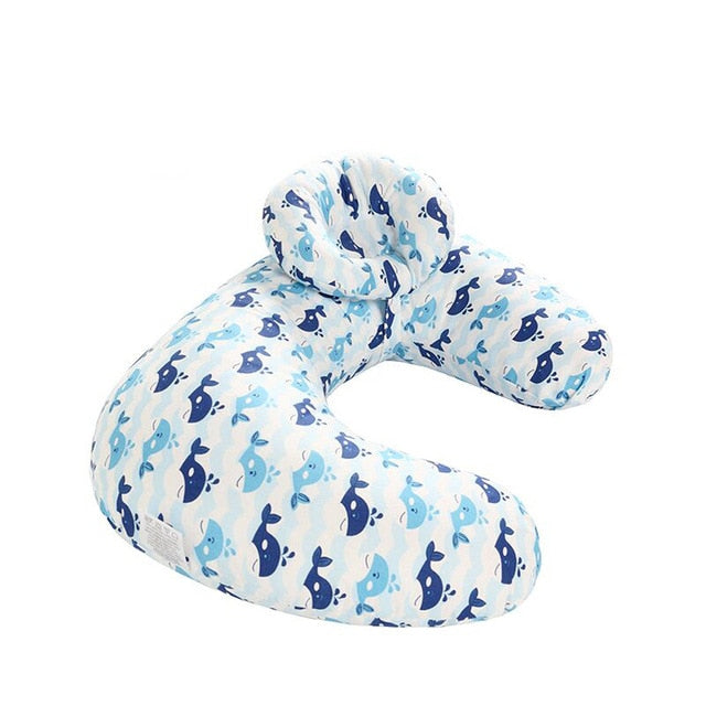 Nursing Newborn Baby Breastfeeding Pillow Cover Nursing Slipcover U-shaped Pillow