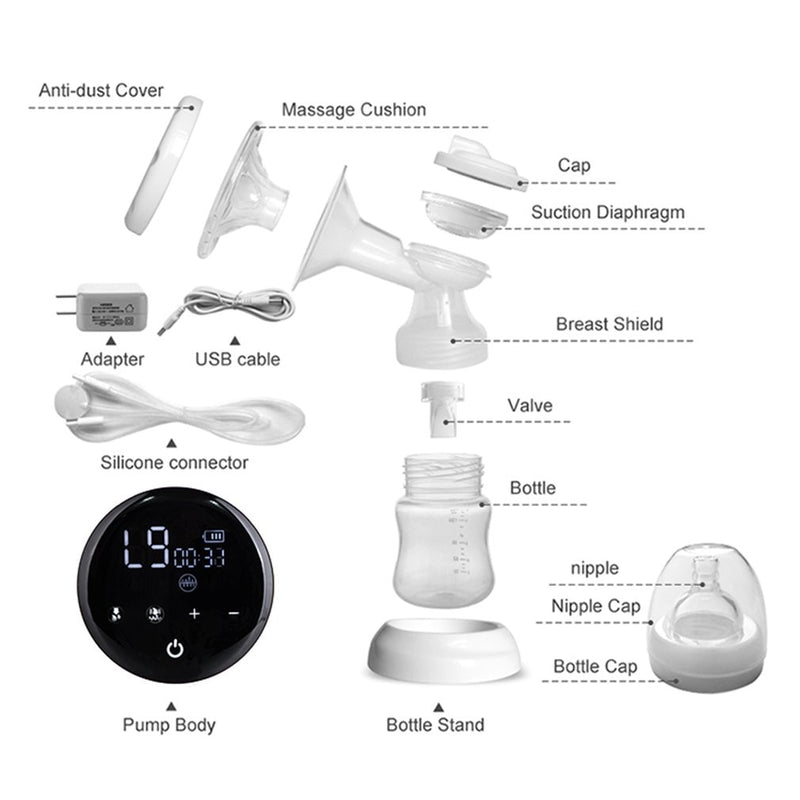 Double Electric Breast Pumps - Touch Screen