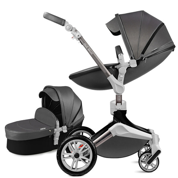 Baby Stroller 3 in 1 - 360° Rotation