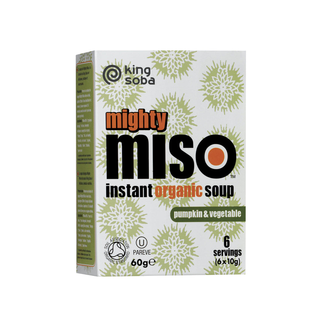 Organic Mighty Miso Soup with Pumpkin