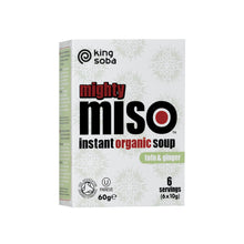 Load image into Gallery viewer, Organic Mighty Miso Soup with Tofu & Ginger