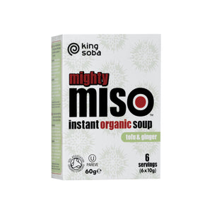 Organic Mighty Miso Soup with Tofu & Ginger