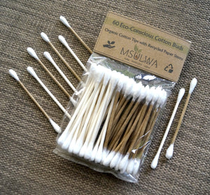 Cotton Buds (Organic Tips with Recycled Paper Stems) - Msulwa Life