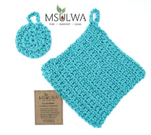 Load image into Gallery viewer, Eco-Scrubbies: For Personal Care or Kitchen Use - Msulwa Life