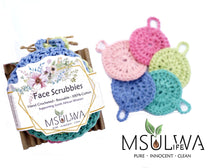 Load image into Gallery viewer, Face Scrubbies - Pack of 5 Colours - Msulwa Life