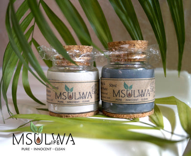 Natural Tooth Whitening & Remineralizing Tooth Treatment Paste - Msulwa Life
