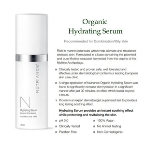 Organic Hydrating or Ultra Hydrating Serum - 30ml (Single) msulwa-com.