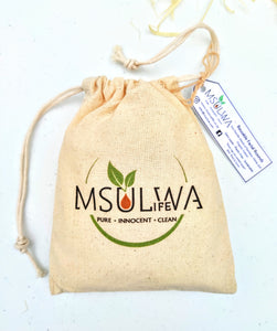 Msulwa Life's Reusable Facial Rounds - Msulwa Onine Store. Pure, Innocent, Clean. Products that are Eco-friendly, organic, sustainable, healthy, natural, vegan, biodgradable, zero waste, eco packaging. South Africa & Worldwide