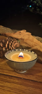 NEW! Natural Coconut & Soy Wax Candle - Large - Msulwa Life
