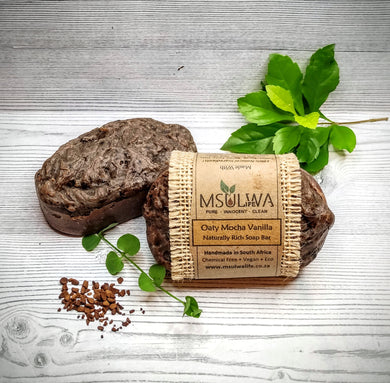 Oaty Mocha Vanilla-Naturally Rich Soap Bar - Msulwa Life