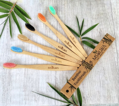 NEW! Msulwa Life's Bamboo Toothbrushes msulwa-com.