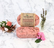 Load image into Gallery viewer, Lavender Potpourri Rose- Luxury Soap Bar - Msulwa Life