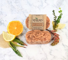 Load image into Gallery viewer, Orange & Rosemary - Exotic & Zesty Soap Bar - Msulwa Life