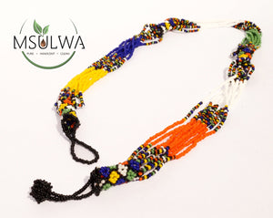 Tribal African Necklace msulwa-com.