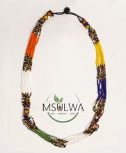 Load image into Gallery viewer, Tribal African Necklace msulwa-com.