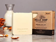 Load image into Gallery viewer, Hello Soap (Natural & Vegan) - Msulwa Onine Store. Pure, Innocent, Clean. Products that are Eco-friendly, organic, sustainable, healthy, natural, vegan, biodgradable, zero waste, eco packaging. South Africa & Worldwide