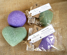 Load image into Gallery viewer, Valentines Special! Natural Konjac Sponge - Msulwa Life