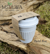 Load image into Gallery viewer, Eco-Conscious Bamboo Blend Mug - Msulwa Onine Store. Pure, Innocent, Clean. Products that are Eco-friendly, organic, sustainable, healthy, natural, vegan, biodgradable, zero waste, eco packaging. South Africa & Worldwide