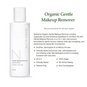 Organic Gentle Makeup Remover - Msulwa Onine Store. Pure, Innocent, Clean. Products that are Eco-friendly, organic, sustainable, healthy, natural, vegan, biodgradable, zero waste, eco packaging. South Africa & Worldwide