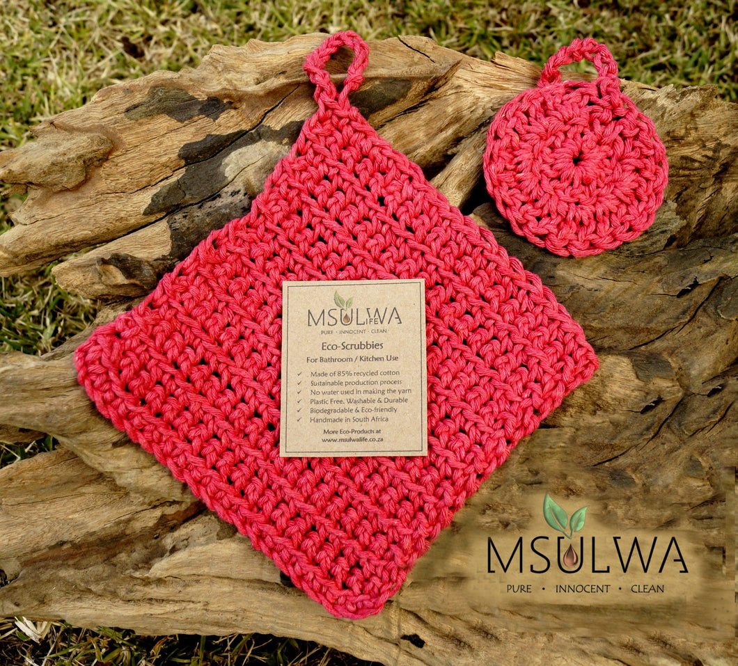 Eco-Scrubbies: For Personal Care or Kitchen Use - Msulwa Life