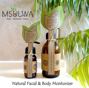 Natural Body Moisturizer - Geranium & Lavender - Msulwa Onine Store. Pure, Innocent, Clean. Products that are Eco-friendly, organic, sustainable, healthy, natural, vegan, biodgradable, zero waste, eco packaging. South Africa & Worldwide