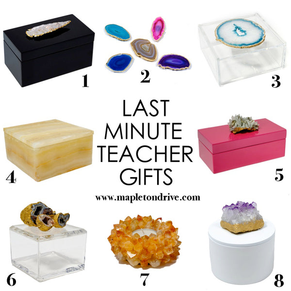 teacher gifts, gift ideas, mapleton drive
