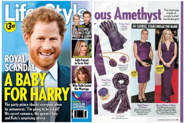 mapleton drive, life & style magazine, magazine, featured, amethyst, cuff, jewelry, fashion, accessories