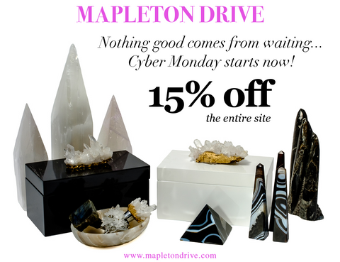 mapleton drive, cyber monday, cyber monday deals, home decor, decor, accessories, style